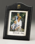 Royal Memorabilia:British, Princess Diana Presentation Frame with Signed Original Photographof Princess Diana, Prince William, and Prince Henry. Sig...