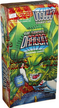 Memorabilia:Trading Cards, The Savage Dragon Trading Cards Unopened Wax Pack Box (ComicImages, 1992)....