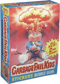 Memorabilia:Trading Cards, Garbage Pail Kids Series 2 Trading Stickers Wax Pack Box (Topps,1985)....