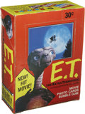 Memorabilia:Trading Cards, E.T. the Extra-Terrestrial Trading Cards Wax Pack Box (Topps,1982)....