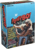 Memorabilia:Trading Cards, Here's Bo (Bo Derek) Trading Cards Wax Pack Box (Fleer, 1981)....