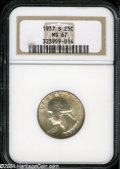 Washington Quarters: , 1937-S 25C MS67 NGC....