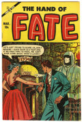 Golden Age (1938-1955):Horror, The Hand of Fate #22 (Ace, 1954) Condition: VF....