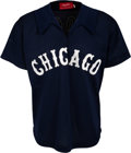 Baseball Collectibles:Uniforms, 1978 Wilbur Wood Game Worn Chicago White Sox Disco Style Jersey ...