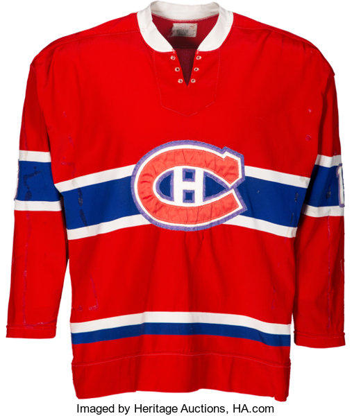 low priced fbe60 94cac 1972-73 Guy Lafleur Game Worn Montreal Canadians Jersey ...