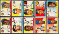 Baseball Cards:Lots, 1955 Topps Baseball Collection (151) With HoFers. ...