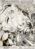 Original Comic Art:Splash Pages, P. Craig Russell and Jimmy Janes Marvel Feat...