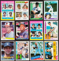 Baseball Cards:Lots, 1975-85 Baseball Greats & HoFers Rookie Collection (139)....
