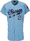 Baseball Collectibles:Uniforms, 1967 Smoky Burgess Game Worn Chicago White Sox Jersey....