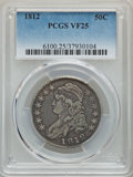 1812 50C Large 8 VF25 PCGS. PCGS Population: (94/1319). NGC Census: (26/640). CDN: $185 Whsle. Bid for problem-free NGC/...