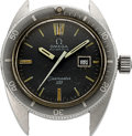 Timepieces:Wristwatch, Omega, Vintage Seamaster 120 Automatic, Stainless Steel, Ref. 566.023, Circa 1969. ...