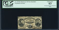 Fractional Currency:Third Issue, Fr. 1274SP 15¢ Third Issue Narrow Margin Face PCGS Choice New 63.. ...