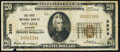 National Bank Notes:Missouri, Nevada, MO - $20 1929 Ty. 1 The First NB Ch. # 3959 Fine.. ...