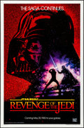 """Movie Posters:Science Fiction, Revenge of the Jedi (20th Century Fox, 1982). Rolled, Very Fine+. One Sheet (27"""" X 41""""). Dated Style, Drew Struzan Artwork. ..."""