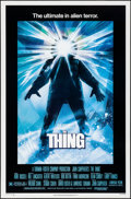 Movie Posters:Horror, The Thing (Universal, 1982). Rolled, Very Fine-. O...