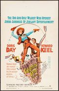 "Movie Posters:Musical, Calamity Jane (Warner Brothers, 1953). Very Fine. Window Card (14""X 22""). Musical.. ..."