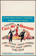 "Movie Posters:Musical, Call Me Madam & Other Lot (20th Century Fox, 1953). Very Fine-.Window Cards (3) (14"" X 22""). Musical.. ... (Total: 3 Items)"