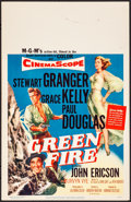 "Movie Posters:Adventure, Green Fire & Other Lot (MGM, 1954). Very Fine. Window Cards (2) (14"" X 22""). Adventure.. ... (Total: 2 Items)"