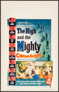 """Movie Posters:Adventure, The High and the Mighty (Warner Brothers, 1954). Very Fine/NearMint. Window Card (14"""" X 22""""). Adventure.. ..."""