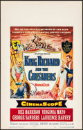 Movie Posters:Adventure, King Richard and the Crusaders & Other Lot (Warner Brother...