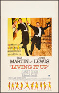 Movie Posters:Comedy, Living It Up & Other Lot (Paramount, 1954). Very Fine+.
