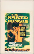 Movie Posters:Adventure, The Naked Jungle & Other Lot (Paramount, 1954). Very Fine....