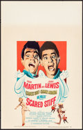 Movie Posters:Comedy, Scared Stiff (Paramount, 1953). Very Fine+. Window...