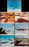 """Movie Posters:War, Battle of Britain (United Artists, 1969). Very Fine. Color Photos (7) & British Front of House Color Photos (5) (8"""" X 10""""). ... (Total: 12 Items)"""
