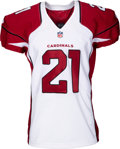 Football Collectibles:Uniforms, 2014 Patrick Peterson Game Issued & Signed Arizona Cardinals Jersey....
