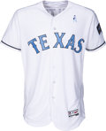 Baseball Collectibles:Uniforms, 2017 Adrian Beltre Game Worn Texas Rangers Father's Day WeekendJersey MLB Authentic. ...