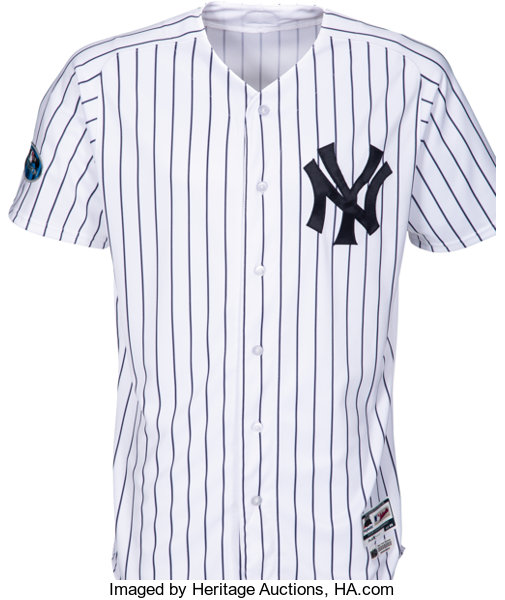 huge selection of 8a807 455b5 2018 Zach Britton Game Worn New York Yankees Jersey Used 10 ...