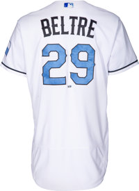 new arrivals 7c2a2 f1a5b 2017 Adrian Beltre Game Worn Texas Rangers Father's Day ...