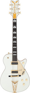 Musical Instruments:Electric Guitars, 1994 Gretsch G6134 White Penguin Solid Body Electric Guitar, Serial # 943134-70....