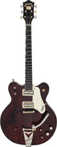Musical Instruments:Electric Guitars, 1963 Gretsch Chet Atkins Country Gentleman Brown Stain Semi-Hollow Body Electric Guitar, Serial # 54722.. ...
