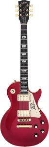 Musical Instruments:Electric Guitars, 1983 Gibson Les Paul Standard Candy Apple Red Solid Body ElectricGuitar, Serial # 81443554....