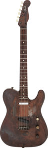 Musical Instruments:Electric Guitars, 2010 Trussart Steelcaster Rusted Hollow Body Electric Guitar, Serial # 9935....