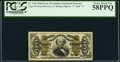 Fractional Currency:Third Issue, Fr. 1340 50¢ Third Issue Spinner Type II PCGS Choice About New 58PPQ.. ...