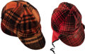 Baseball Collectibles:Hats, 1950's Enos Slaughter Personal Hunting Hats Lot of 2 from The EnosSlaughter Collection. ...