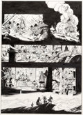 Original Comic Art:Panel Pages, Humbert Chabuel (as HUB) Okko Tome 4 : Le Cycle de laterre II Planche originale de la page 53 (Delcou...
