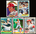 Autographs:Sports Cards, 1976-92 Baseball Greats Signed Card Collection (40)....