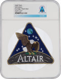 Explorers:Space Exploration, NASA Altair AB Emblem Lunar Surface Access Module (LSAM) Patch, Directly From The Armstrong Family Collection™, CAG Certified....