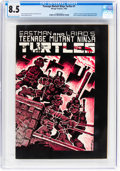 Modern Age (1980-Present):Alternative/Underground, Teenage Mutant Ninja Turtles #1 (Mirage Studios, 1984) CGC VF+ 8.5 Cream to off-white pages....
