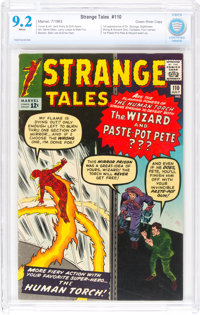 Strange Tales #110 Green River Pedigree (Marvel, 1963) CBCS NM- 9.2 White pages