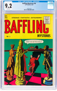 Baffling Mysteries #26 (Ace, 1955) CGC NM- 9.2 White pages