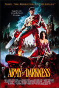 "Movie Posters:Horror, Army of Darkness (Universal, 1992). Rolled, Near Mint. One Sheet(26.75"" X 39.75"") SS. John Bolton Artwork. Horror."