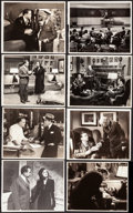 """Movie Posters:Film Noir, The Woman in the Window (RKO, 1945). Fine/Very Fine. Linen BackedKeybook Photos (12) (approx. 8"""" X 10""""). Film Noir.. ... (Total: 12Items)"""