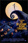 """Movie Posters:Animation, The Nightmare Before Christmas (Touchstone, 1993). Rolled, VeryFine/Near Mint. Mini Poster (17.75"""" X 27"""") SS. Animat..."""