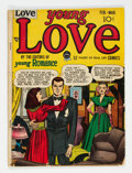 Golden Age (1938-1955):Romance, Young Love #1 (Prize, 1949) Condition: VG-....