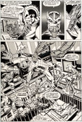 Original Comic Art:Panel Pages, Jim Starlin and Joe Rubinstein Marvel Two-In-One Annual #2 Page 18 Original Art (Marvel, 1977)....