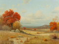 Paintings, Porfirio Salinas (American, 1910-1973). An Autumn Day. Oil on canvas. 30 x 40 inches (76.2 x 101.6 cm). Signed lower lef...